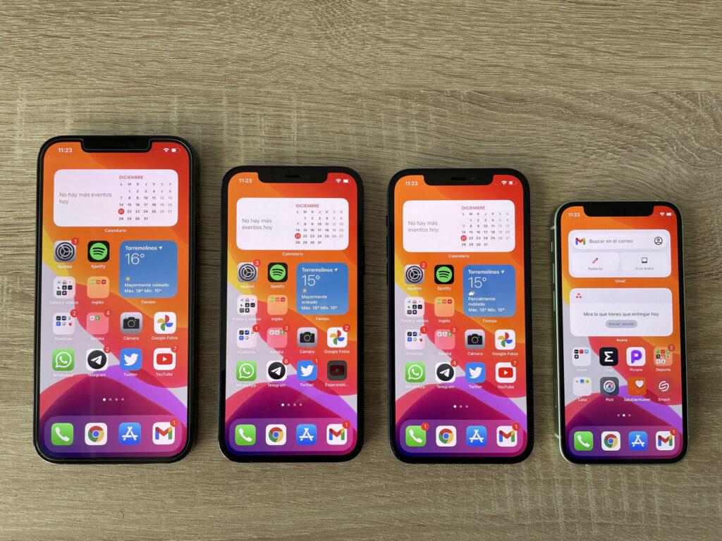iPhone 12 mini, iPhone 12, iPhone 12 Pro и iPhone 12 Pro Max